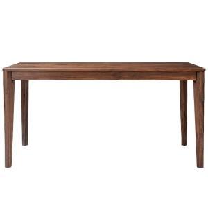 ダイニングテーブル meets 140 ウォールナット無垢材 140×80cm 4人用|atease