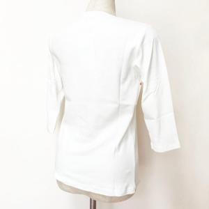 七分袖 フラTシャツ ハイビスカス プリント ブラック M L LL 3L 送料無料 クリックポスト ハワイアンプリント フラダンス 7分袖|atelier-ayumi|04