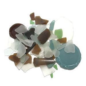 天然素材 海の宝石 ビーチグラス ( シーグラス )400g アソートカラー 【送料無料】ハワイアン雑貨 手づくり雑貨 ハンドメイド ガラス工芸 マリン雑貨 atelier-ayumi 02