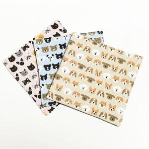 アニマル コースター 2枚組〈犬/熊/猫〉 キッチン雑貨 ビションフリーゼ コーギー 柴犬 ビーグル プードル 黒ねこ シャムネコ ロシアンブルー パンダ 白くま|atelier-ayumi