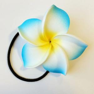 プルメリア へアーゴム 同色2個組み ヘアーアクセサリー ハワイアンアクセ クリックポスト対応可能 ヘアゴム ヘアーゴム ヘアアクセ|atelier-ayumi|02