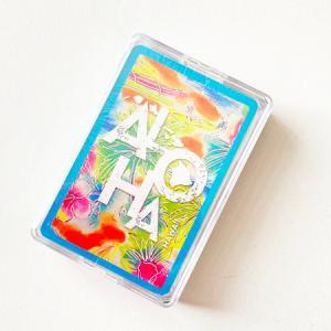 ハワイアン トランプ カード [ トロピカル アロハ ] ハワイアン雑貨 クリックポスト対応可能 Island Heritage ファミリー トイ ゲーム おもちゃ カードゲーム atelier-ayumi