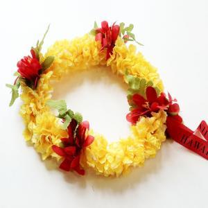 ジャスミンヘッドバンド〈イエロー&ホワイト〉 ハワイアンレイ フラワーレイ  クリックポスト対応可能 フラガール花冠 ハクレイ ハワイアンウエディングに atelier-ayumi