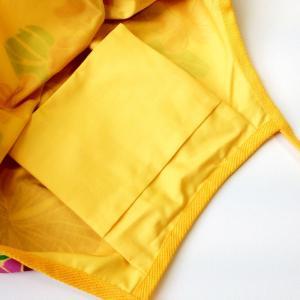 ハワイアングラニーバッグ Lサイズ ハイビスカス〈イエロー〉【クリックポスト送料無料】オリジナルハンドメイド|atelier-ayumi|02