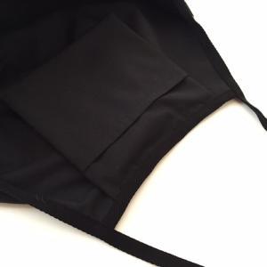 ハワイアン グラニーバッグ Lサイズ タパ柄〈ブラック〉クリックポスト 送料無料 オリジナル ハンドメイド 手作り|atelier-ayumi|03