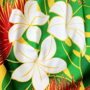 2Wayハワイアングラニーバック Sサイズ プルメリア&レフア〈イエロー〉【クリックポスト送料無料】オリジナルハンドメイド atelier-ayumi 04