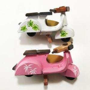 ベスパ ハワイアンサーフボード〈カラフルフラワー〉ペイント木彫り 【アジアン雑貨】【ハワイアン雑貨】|atelier-ayumi|03
