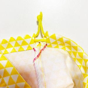 鬼柄 和柄 鬼退治 和風 ちりめん 巾着袋 送料無料 クリックポスト きめつ の やいば グッズ 鬼 柄 鬼 滅 の 刃風 パロディ|atelier-ayumi|05