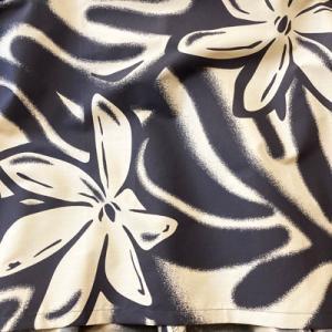 パウスカート 67cm 72cm 77cm ウエスト無地 ハワイアンキルト柄〈ペールブルー&ホワイト〉4本ゴム ハワイアン フラダンス衣装 4ヤードパウ 水色 青 白 日本製|atelier-ayumi|03