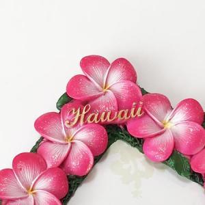 プルメリア フォトフレーム ピンク ハワイアン雑貨 写真立て 結婚式 ハワイアンウエディングに 卒業式などの思い出作りに 南国 トロピカル 芳香剤|atelier-ayumi|03