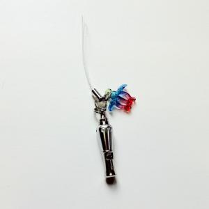 ロケット型震災笛(レスピーホイッスル)レインボーホヌ付ストラップ 【クリックポスト対応可能】ハワイアン雑貨 震災の備えに! atelier-ayumi 05