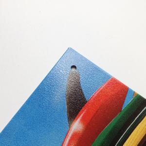 〈ブリキ看板〉桟橋の下のカラフルサーフボード〈ハワイアン雑貨〉〈アメリカン雑貨〉ティンプレート・ティンサイン・サインプレート ハワイアンインテリア|atelier-ayumi|02