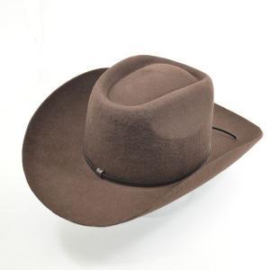 帽子 ウール ウエスタンハットType2.0(カウボーイ・テンガロンハット)全3色/ブラウン|atelier-doraneko