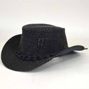 帽子 フェイクレザークラシックカウボーイハット|atelier-doraneko