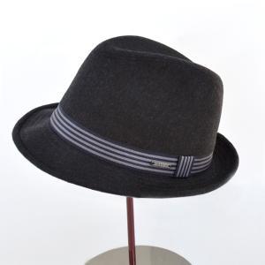 帽子 メンズハット FRAMA ウール混中折れハット イタリア製|atelier-doraneko