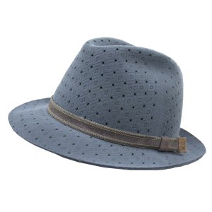 帽子 メンズハット テシ Tesi ウールパンチング中折れハット|atelier-doraneko