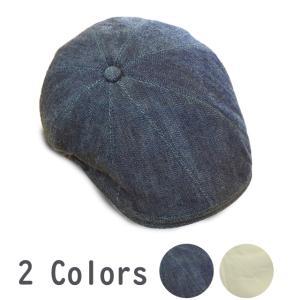 帽子 ハンチング psychobunny デニムハンチング 手洗いOK 日本製|atelier-doraneko