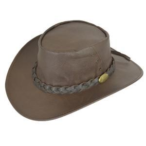 帽子 ウエスタンハット(カウボーイハット/テンガロンハット) Jacaruオーストラリア製 Kangaroo Brown [1001A-Kangaroo Hat]|atelier-doraneko