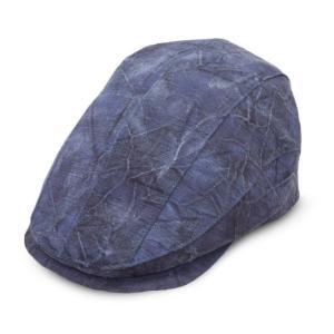 帽子 Trophy かご染めハンチング 日本製 手洗いOK|atelier-doraneko