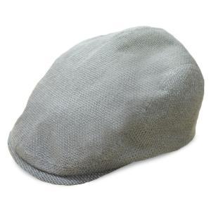 帽子 ハンチング DAKSハンチング グレー 日本製 サイズ調整可|atelier-doraneko