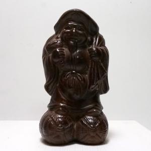 備前焼 大黒様 高さ15cm 置物飾物/縁起物/古美術/置物|atelier-erica