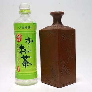 備前焼 古備前 角徳利 高さ20cm 伊部焼/徳利/壺/酒器/保命酒|atelier-erica