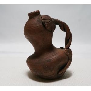 【備前焼 小西陶古 初代 水滴】細工が綺麗な水滴 銘あり 高さ 約9cm|atelier-erica