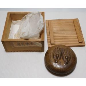 【備前焼 香合】箱付き 銘なし 直径 約6.4cm|atelier-erica|09