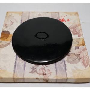 茶道具 真塗『水指の蓋』塗蓋 幅11cm 未使用保管品|atelier-erica