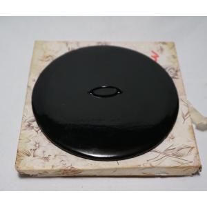 茶道具 真塗『水指の蓋』塗蓋 幅13cm 未使用保管品|atelier-erica