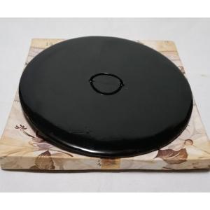 茶道具 真塗『水指の蓋』塗蓋 幅15cm 未使用保管品|atelier-erica