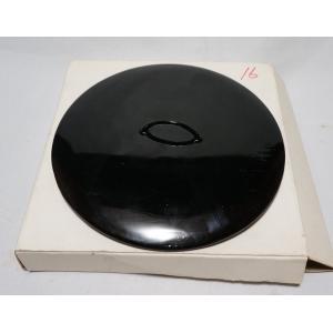 茶道具 真塗『水指の蓋』塗蓋 幅16cm 未使用保管品|atelier-erica