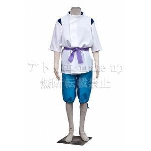 【商品詳細】 セット内容:衣 シャツ ズボン 帯 商品素材:ポリエステル ラシャ布