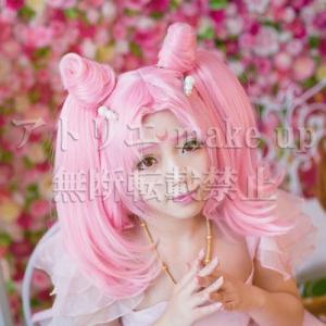 【美少女戦士セーラームーン コスプレ用ウィッグ】ちびうさ セーラーちびムーン アニメ マンガ ゲーム コスプレ用品 cosplay|atelier-makeup