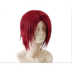 【コスプレウィッグ かつら cosplay wig】☆ワンピース ONEPIECE シャンクス 赤髪+おまけ|atelier-makeup|02
