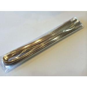 【送料82円可】 ステンドグラス用 棒半田(はんだ) 錫50:鉛50 φ3mm 長さ40cm 10本 約250g