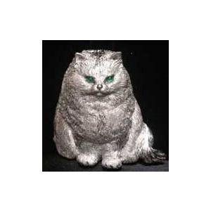 ペット型ブローチ・写真から作るあなたのペットモデル・シルバー制作例1|atelier-ti