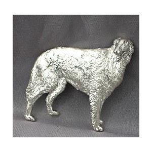 ペット型ブローチ・写真から作るあなたのペットモデル・シルバー制作例2|atelier-ti