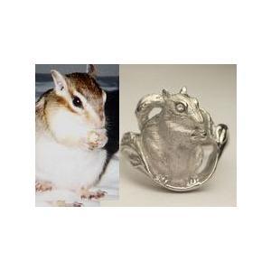 【ペットリング】写真から作るあなたのペット【そっくり指輪】K18WG制作例|atelier-ti