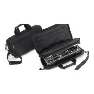 ポケット2箇所、ストラップ付きのナイロン製ケースカバーです。  ビュッフェ・クランポンの楽器に付属さ...