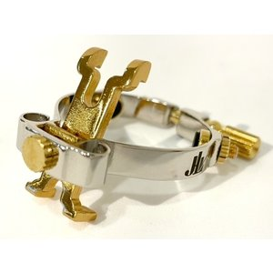 JLVリガチャーは高度な技術を用いて、極めて高い精度で製造されています。  リガチャーの本体部分は金...