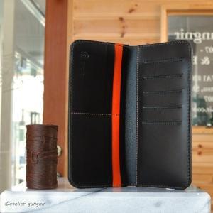 カードとお札の長財布 No.1 ブッテーロ ateliergungnir