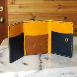 コンパクトな3つ折り財布 No.1 ブッテーロ|ateliergungnir