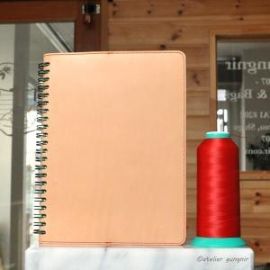 Rollbahnリング手帳カバーAa A5サイズ No.2 ブッテーロ