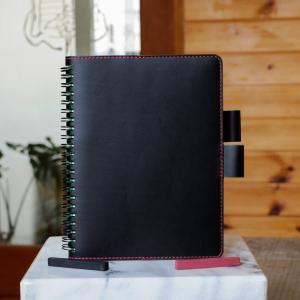 Rollbahnリング手帳カバーAb A5サイズ No.3 ブッテーロ