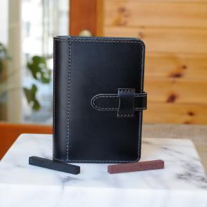 ピタッと開くシステム手帳 ポケットミニ6穴サイズ No.2 ブッテーロ ateliergungnir