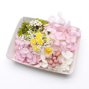 サクラカラー花材セットです♪  ■ 内容量:1ケース ■ カラー:グリーン・ピンク・ホワイト系 ■ ...