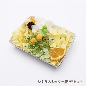 シトラスシャワー花材セットです♪  ■ 内容量:1ケース ■ カラー:イエロー・グリーン系 ■ 材質...
