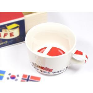 北欧フラッグ マグカップ デンマーク/食器/国旗...