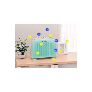ビタミンC抗酸化とマイナスイオン森林浴でリフレッシュマイナスイオン発生空気清浄機ファンディビタミン|atex